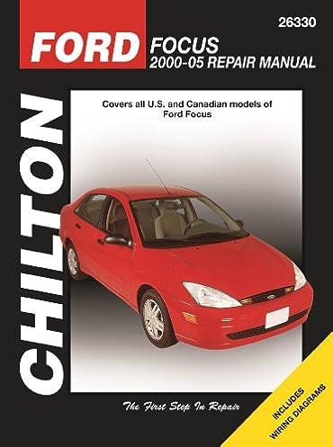 ford focus 2000 through 2005 chilton s total car care repair rh amazon com 2000 Ford Focus Manual Book 2000 Ford Focus Repair Guide