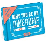Knock Knock Why You're So Awesome Fill in the Love Book Fill-in-the-Blank Gift Journal
