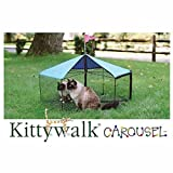 Kittywalk Carousel Outdoor Cat Enclosure Green review
