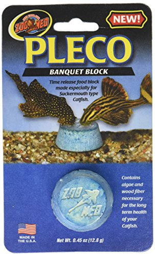 (2 Pack) Zoo Med Laboratories Pleco Banquet Blocks Bottom Blocks