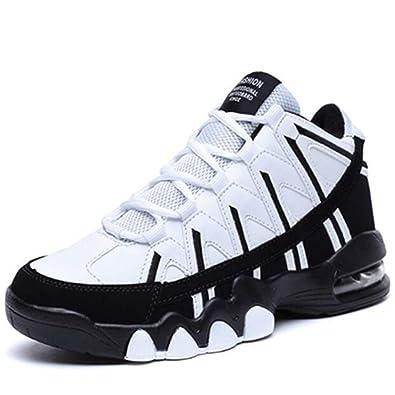 Qianliuk Uomo Basket Scarpe Primavera Alto Aumento Ammortizzazione Studenti Coppia  Sport Scarpe Donna Sneakers 7837146d5dd