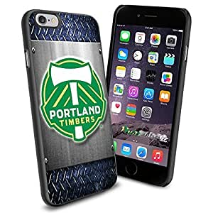 diy zhengSoccer MLS PORTLAND TIMBERS SOCCER CLUB FOOTBALL FC Logo , Cool Ipod Touch 4 4th Smartphone Case Cover Collector iphone TPU Rubber Case Black