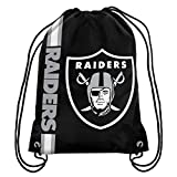 NFL Oakland Raiders 2015 Drawstring Backpack, Black