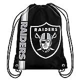 NFL Las Vegas Raiders Big Logo Drawstring Backpack
