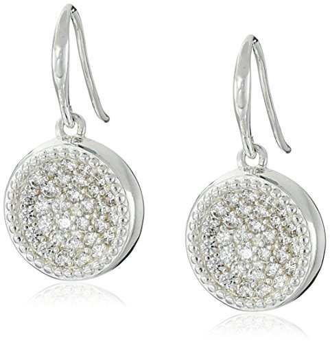 Chamilia Sterling Silver Luna with Swarovski Zirconia Drop Earrings by Chamilia