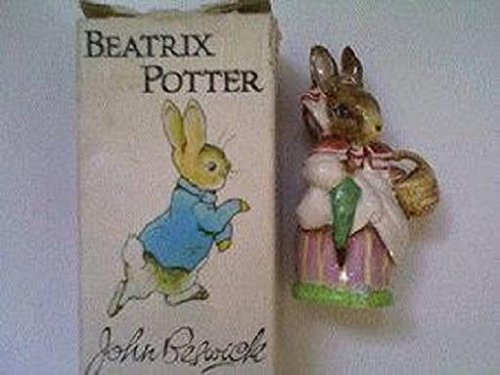 Beatrix Potter Figurine: Mrs. Rabbit 1981 John Beswick Studio of Royal Doulton