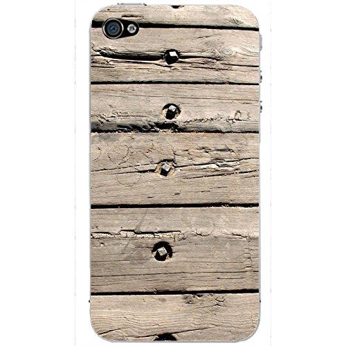 Coque Apple Iphone 5-5s-SE - Lames de bois