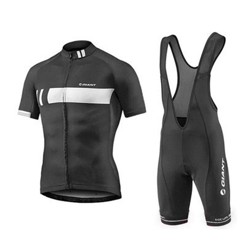 Fahrrad Reitanzug Sommer Herren Jersey Kurzjacke Quick Dry Kleidung Coole atmungsaktive Fahrradkleidung Fahrrad Trikot LPLHJD