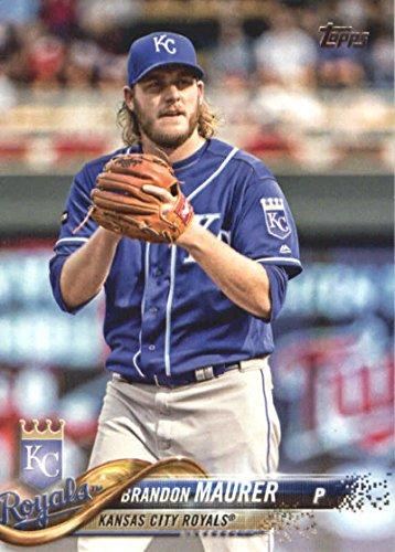626 Series - 2018 Topps Baseball Series 2#626 Brandon Maurer Kansas City Royals Official MLB Trading Card