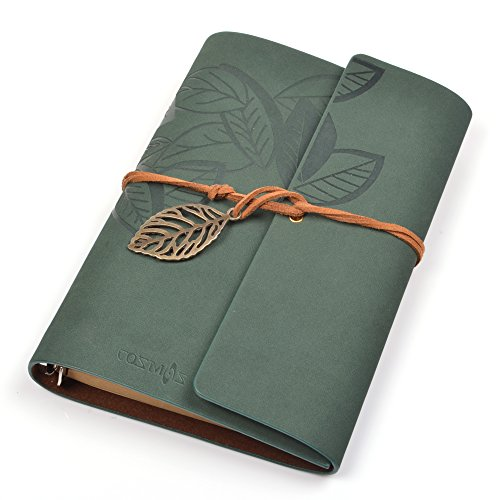 Cosmos Classic Leather Loose leaf Notebook