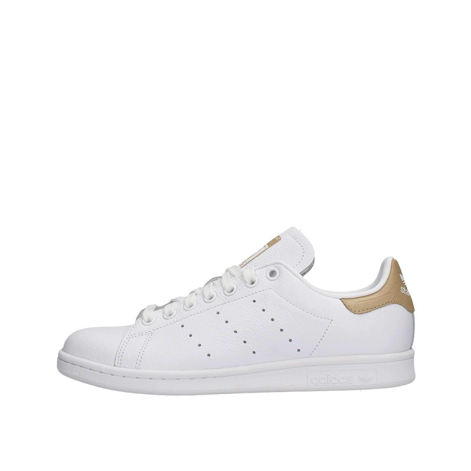 adidas Stan Smith, Chaussures Chaussures Smith, de Fitness Homme 41 1/3 EU|Blanc (Ftwbla/Ftwbla/Stcapa 0) ef2f1c