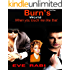 BURN'S WORLD (ROMANTIC SUSPENSE CRIME THRILLER PARANORMAL MYSTERY MODERN NEW ADULT BOOK SERIES): When You Touch Me Like That