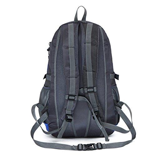 Mountaineering Bag Outdoor Männer und Frauen Schulter Rucksack wasserdicht Wanderpackage Bergsteigen Taschen , Tage blau