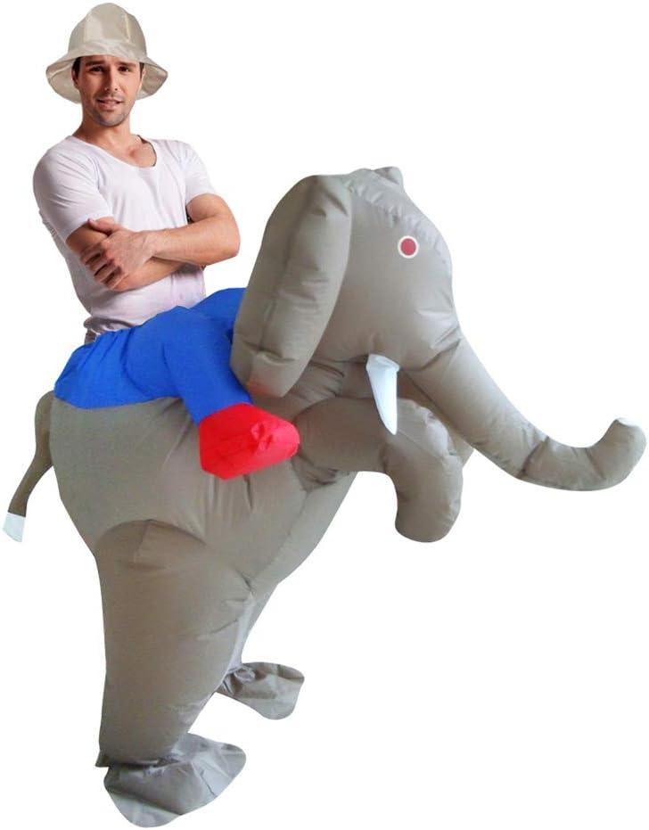 XXLlqFancy Montando un Elefante Navidad Inflable Fiestas de ...