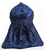Gemazon Collection Velvet Durag with Extra Long