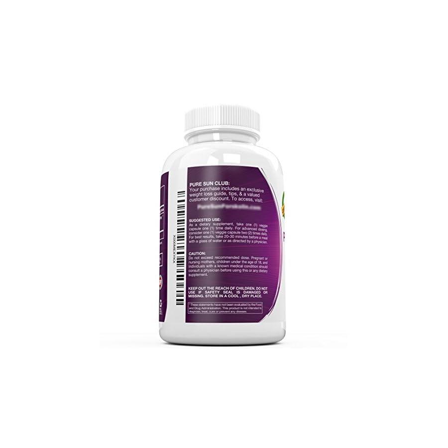 Pure Sun Naturals Pure and Potent Forskolin Weight Loss Supplement, Fat Burner 20 Percent Coleus Forskohlii Standardized, 90 Capsules