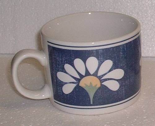- Oneida; Coffee Cup, Teacup; Spring Daisy Design 9 oz. Cup