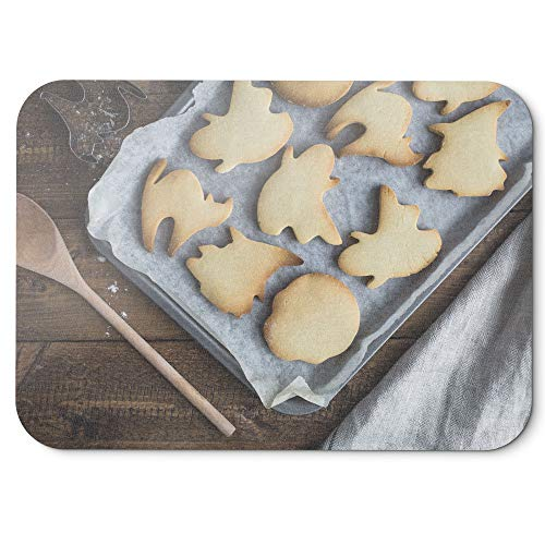 Westlake Art - Cookie Halloween - Mouse Pad - Non-Slip Rubber Picture Photography Home Office Computer Laptop PC Mac - 8x9 inch (D41D8)