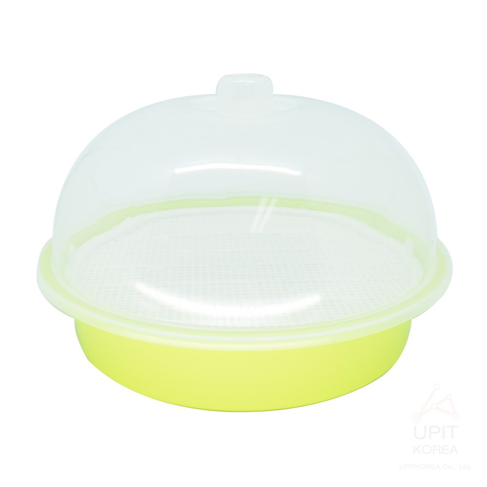 UPIT Microwave Cookware Steamer Large 100 Ounce/ 12.5 Cup Green