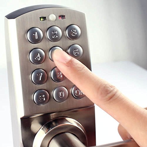 Krexpress Right Handed Digital Combination Keypad Door