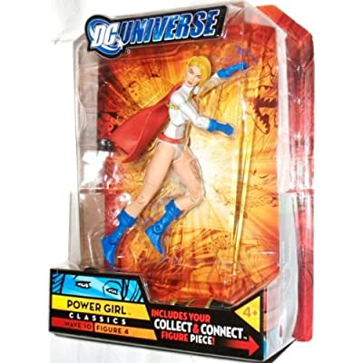 DC Universe Classics Imperiex Series Wave 10 Figure 4 Power Girl Action Figure by DC Comics: Toys & Games