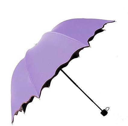 Sucastle Señora, princesa, lluvia soleada, paraguas, plegable, sombra, paraguas,