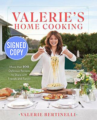 Valeries Home Cooking   Signed   Autographed Copy