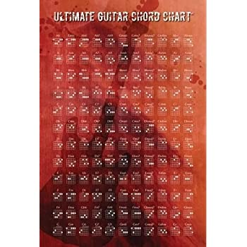 Amazon Ultimate Guitar Chord Chart Poster Print 24 X 36