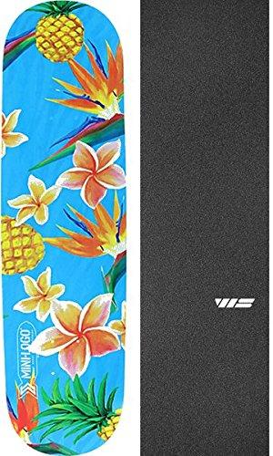 海外で不安定白鳥MiniロゴSmall Bomb Alohaスケートボードデッキ248 – 8.25