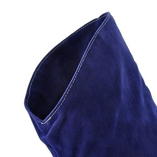 Blue con RAZAMAZA Cremallera Mujer para Botas Largas SU E7wqxPv0w