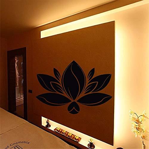 Quotes Wall Sticker Mural Decal Art Home Decor Beauty Salon Spa Salon Decor Lotus Flower Beauty Shop Living Room ()