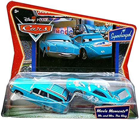 Amazon Com Cars Movie Moments Mr Mrs The King Toys Games