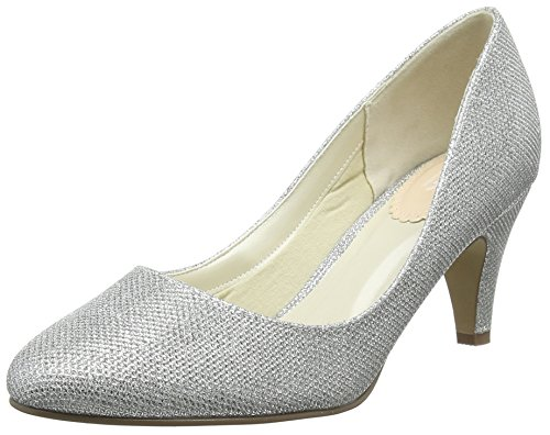 Affection Closed Silver London Paradox Pink Silver of Heels Women's by Toe qXZPOwR