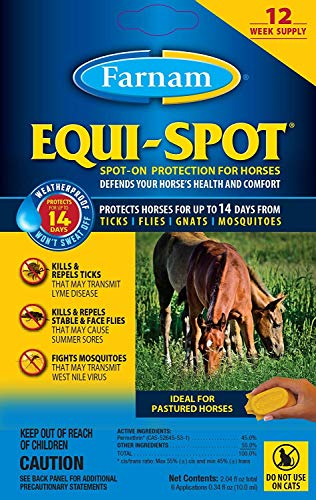 Equi-spot Farnam Horse Spot-On Fly Control, 6-Treatments