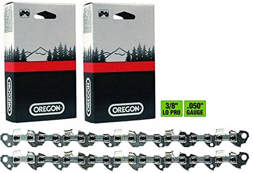 2 Pack, Oregon 91PX055G 55 Drive Link Chamfer Chisel Xtra Guard Chainsaw Chain Loop 3/8
