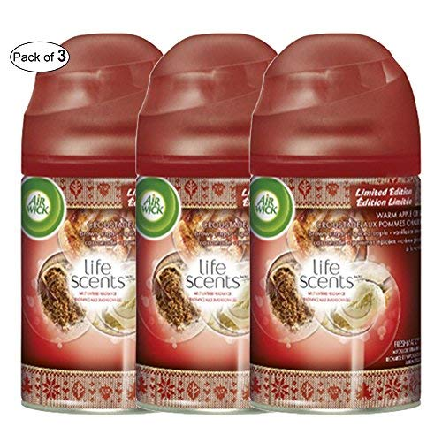 Crisp Apple Warm - Air Wick Life Scents Freshmatic Single Refill: Warm Apple Crisp (Pack of 3)