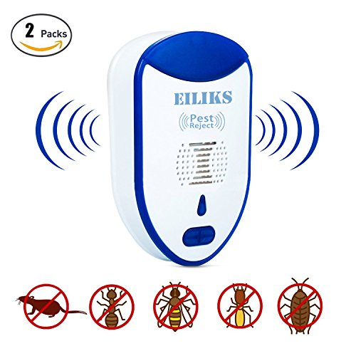 Ultrasonic Pest Control Repeller Plug in - Electronic Insect  Rodents Ant Pest Repellent - for Repelling Mice, Cockroaches, Mosquitoes, Ants, Spiders and More.