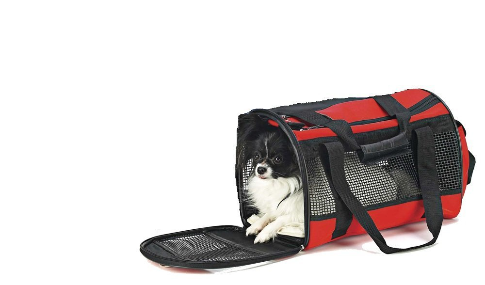 Travel Gear Front Pouch Pet Carrier in Red Ethical Products/Fashion Pet 5181
