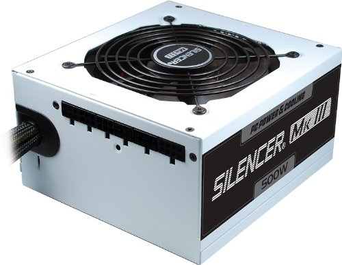 PC Power & Cooling Silencer Series 500 Watt (500W) 80+ Bronze Semi-Modular Active PFC Industrial Grade ATX PC Power Supply 3 Year Warranty - Supply Power Grade