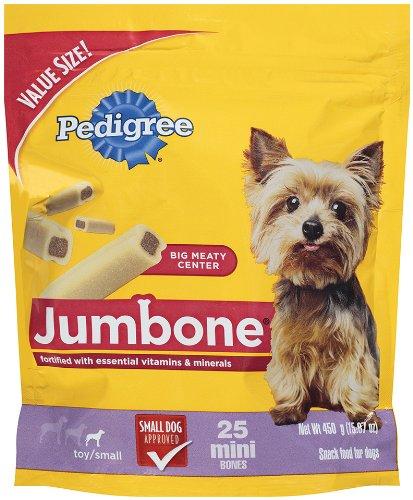 Pedigree Jumbone Mini Snack Treats for Dogs, 15.87-Ounce, My Pet Supplies