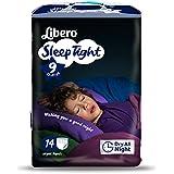 Libero Sleep Tight Night Time Protection Bedwetting Medium 22-37kg Pack of 14