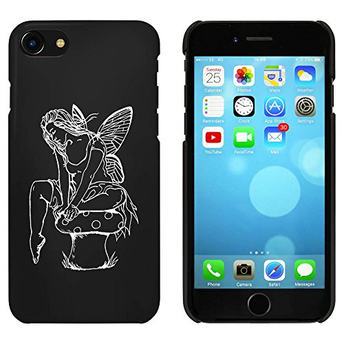 Noir 'Fée de Repos' étui / housse pour iPhone 7 (MC00065715)