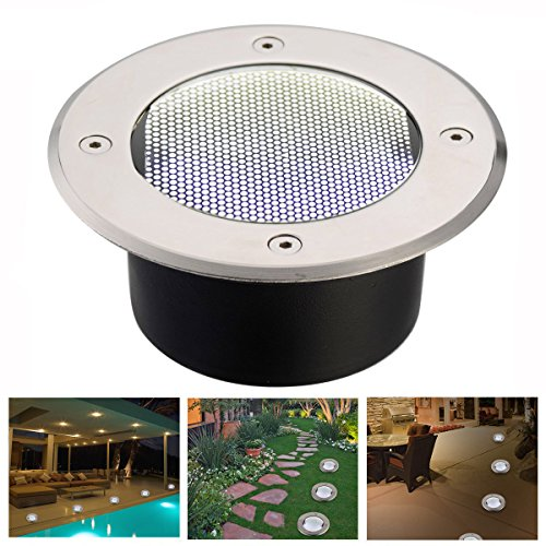Kootek 174 Outdoor Waterproof Solar Powered Deck Lights Path