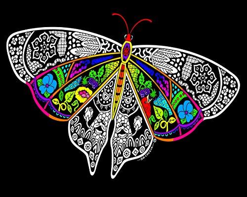 Velvet Butterfly Poster (Stuff2Color Special Edition Velvet Poster 16