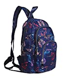WOMACO Sling Bag Travel Daypack Backpack Water Resistant Crossbody Purse (Pattern C)
