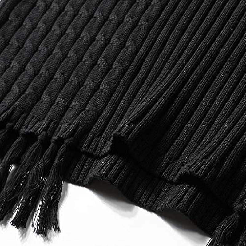 Obestseller Rollkragen Męskie Pullover, Herbst und Winter Langarm Strickpullover Warm halten Einfarbig Strickwaren Mode Rundhalsausschnitt Sweatshirt Casual Lose Bodenbildung Shirt: Odzież