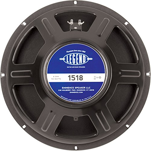 "Eminence Legend 1518 15"" Guitar Speaker, 150 Watts at 8 Ohms from Eminence"