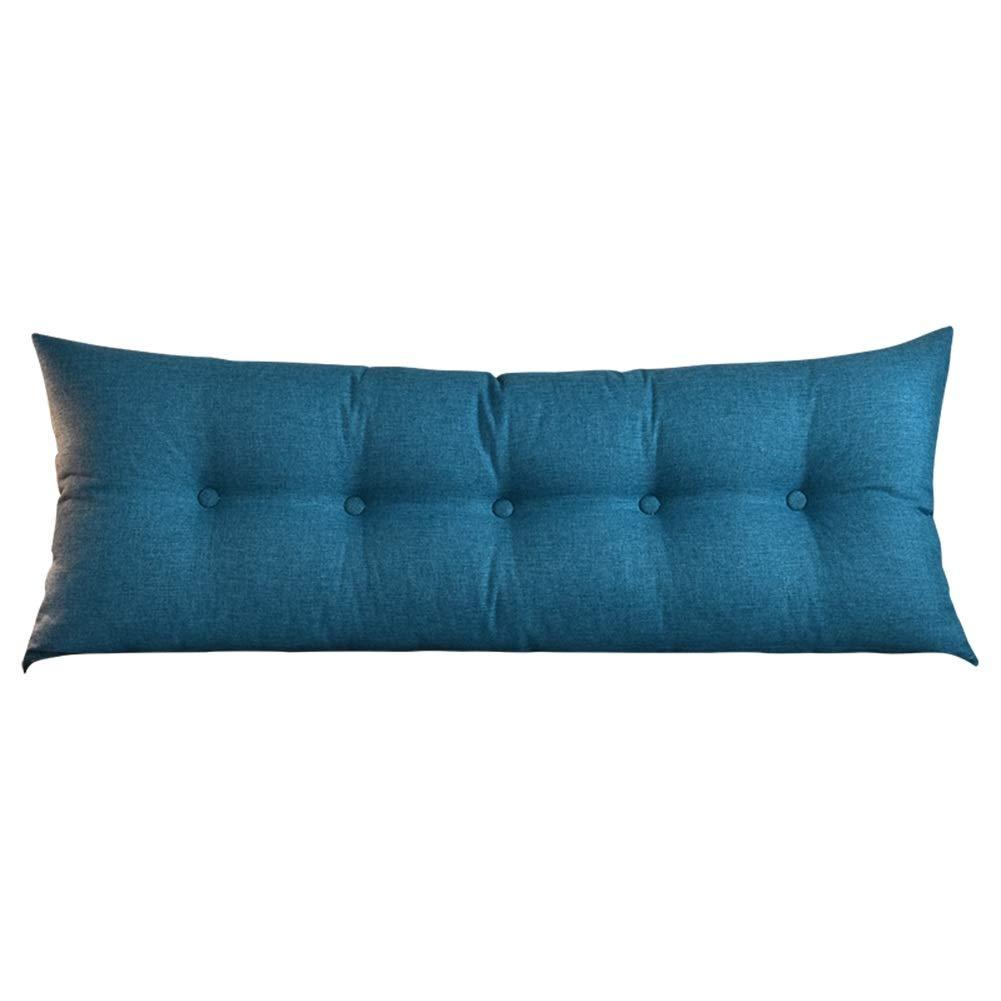 WENZHE クッションベッド 床用靠垫 ウェッジ ホーム コットンとリネン 背もたれ 洗える ソフトケース ゴムバンド 一定、 8色 (色 : C, サイズ さいず : 150x50cm) B07PGPYTDL 150x50cm|A A 150x50cm