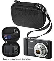 Digital Camera Case for Sony W800/S, DSCW830; Canon PowerShot ELPH 180, ELPH 190, ELPH 310 HS, ELPGH 350HS; Kodak PIXPRO Friednly Zoom FZ43, FZ53-BL Point and Shoot Digital Camera; Nikon COOPIX L32