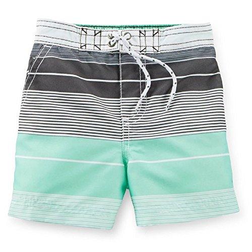 Carter's Kid Boys' Swim Trunks (12, Striped) ()